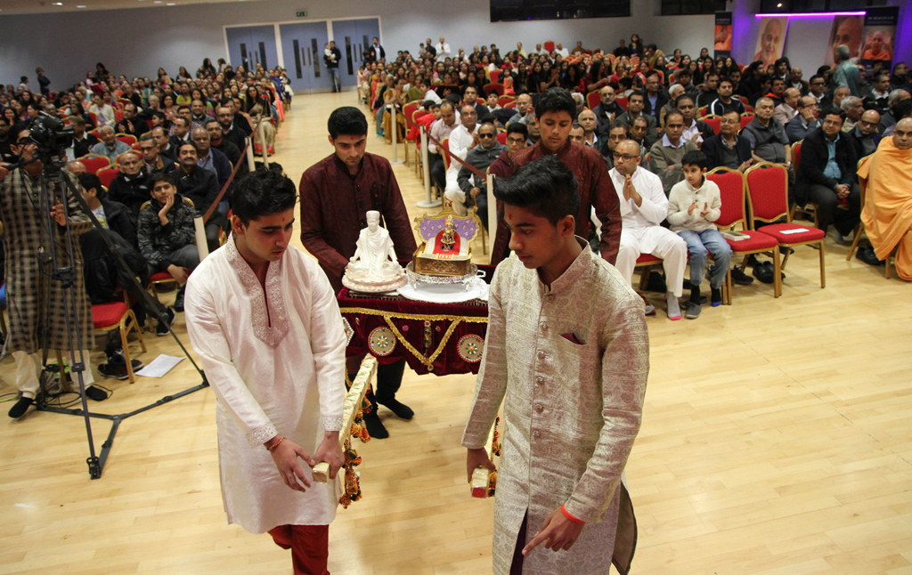 Pramukh Swami Maharaj Birthday Celebrations, East London, UK