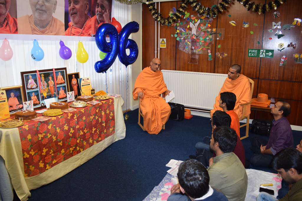 Pramukh Swami Maharaj Birthday Celebrations, Glasgow, UK