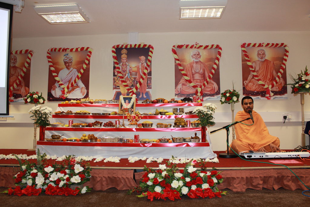 Pramukh Swami Maharaj Birthday Celebrations, Leeds, UK