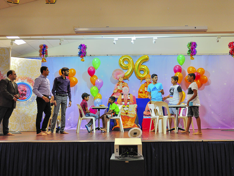 Pramukh Swami Maharaj's 96th Birthday Celebration, Brisbane