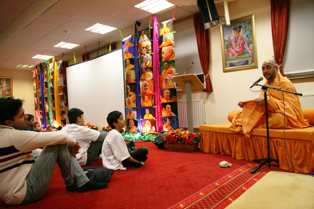 Pramukh Swami Maharaj Birthday Celebrations, Southend-on-Sea, UK