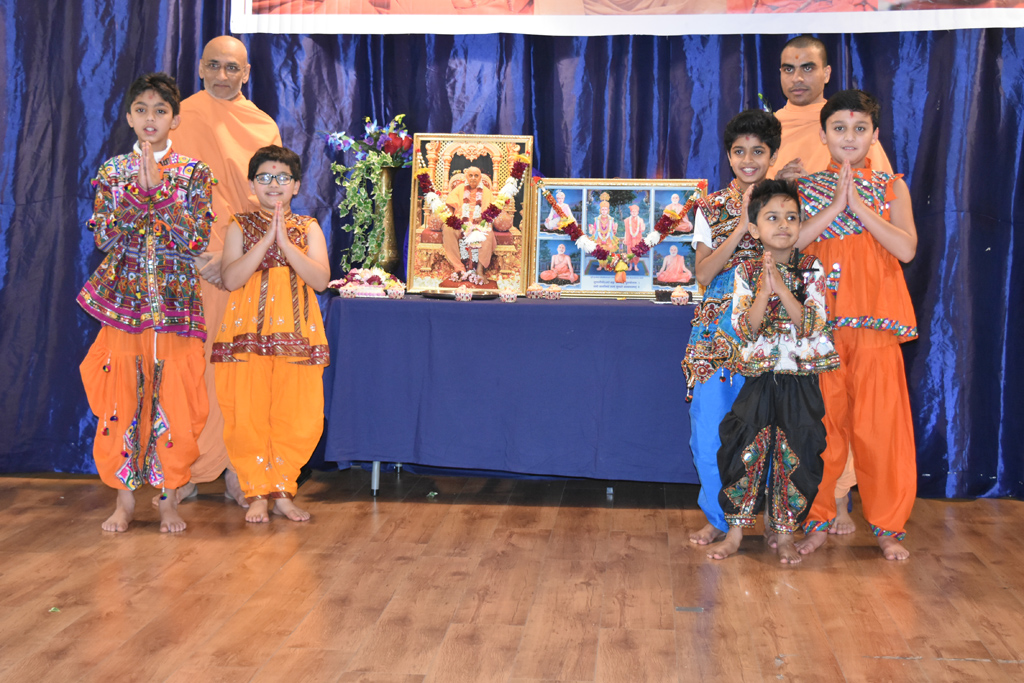 Pramukh Swami Maharaj Birthday Celebrations, Edinburgh, UK