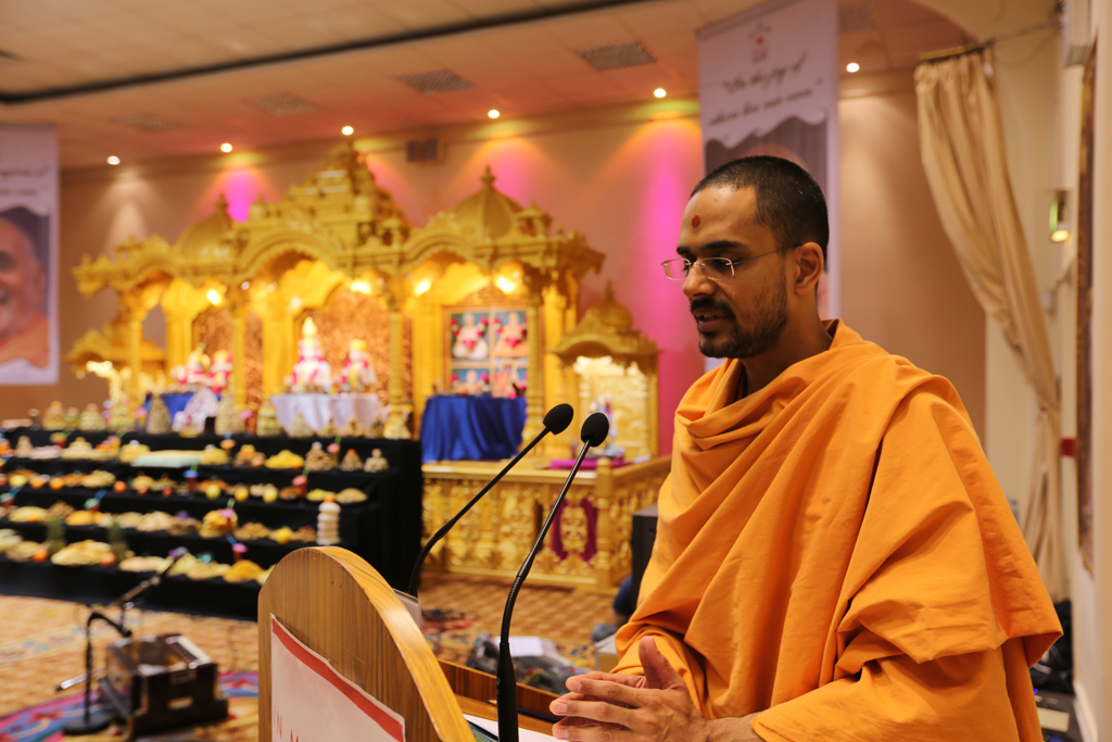 Pramukh Swami Maharaj Birthday Celebrations, Luton, UK