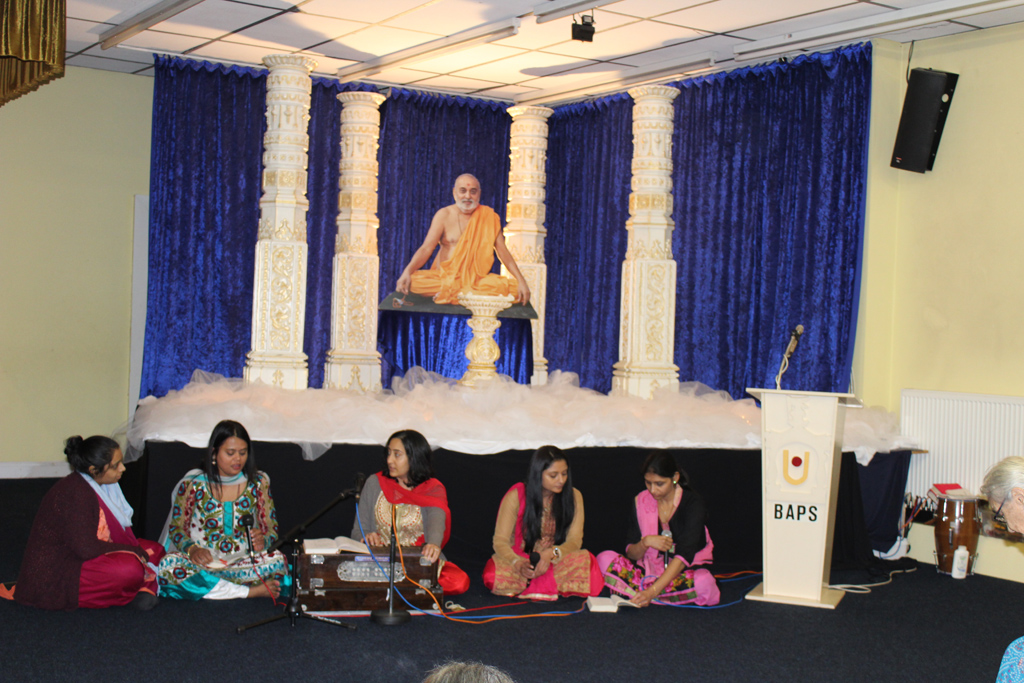 Pramukh Swami Maharaj Birthday Celebrations, Mahila Mandal, Loughborough, UK