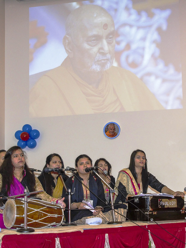 Pramukh Swami Maharaj's 96th Birthday Celebration - Mahila Mandal, Melbourne