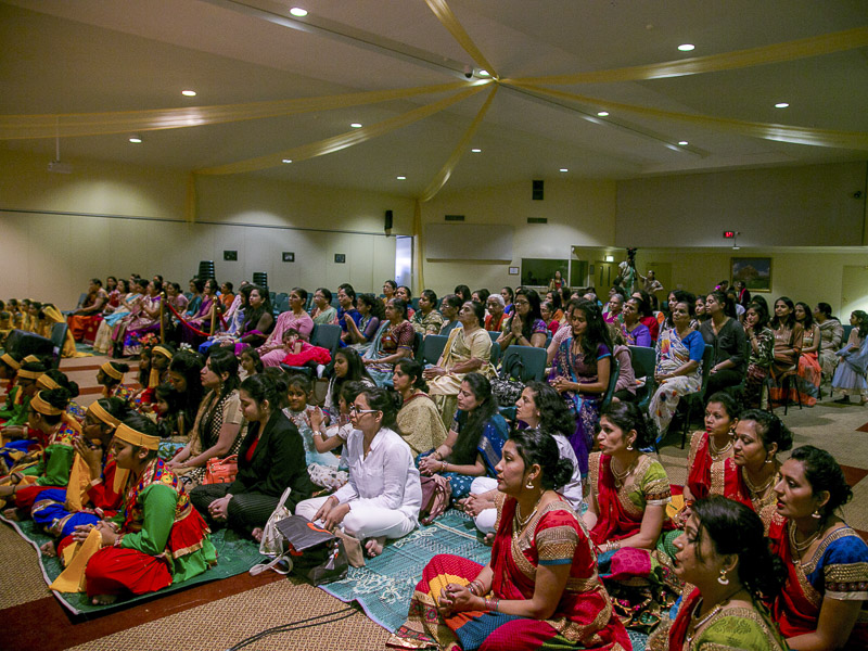 Pramukh Swami Maharaj's 96th Birthday Celebration - Mahila Mandal, Auckland