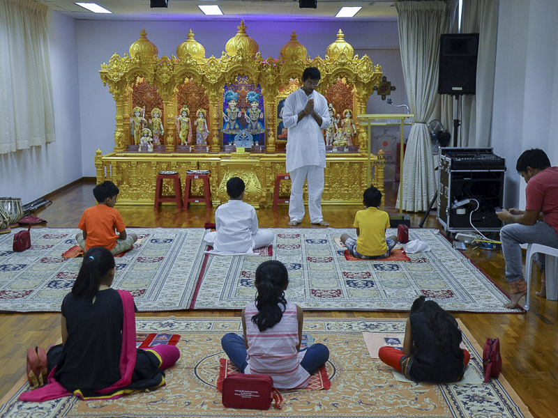Pramukh Swami Maharaj's 96th Birthday Celebration, Singapore