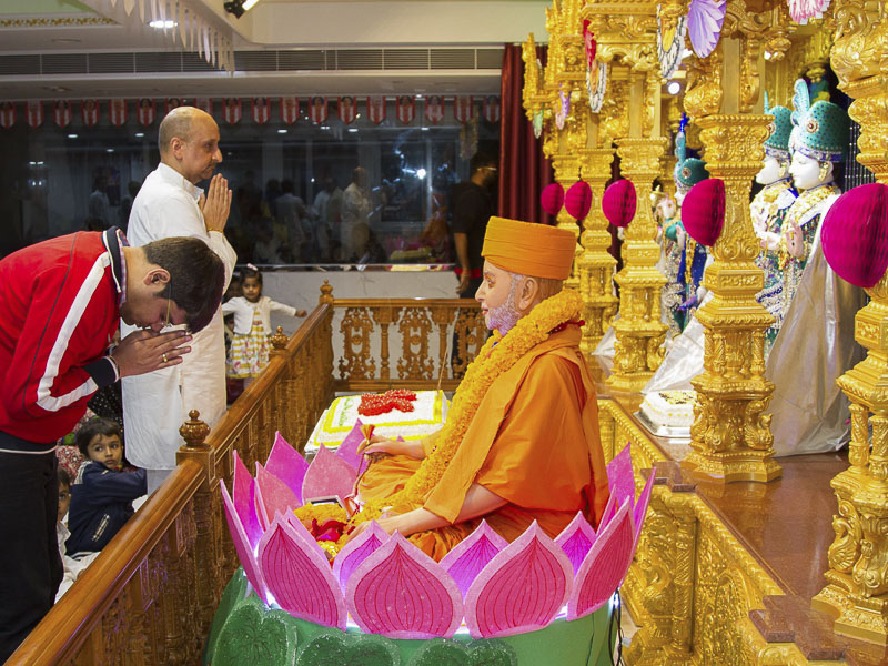 Pramukh Swami Maharaj's 96th Birthday Celebration, Hong Kong