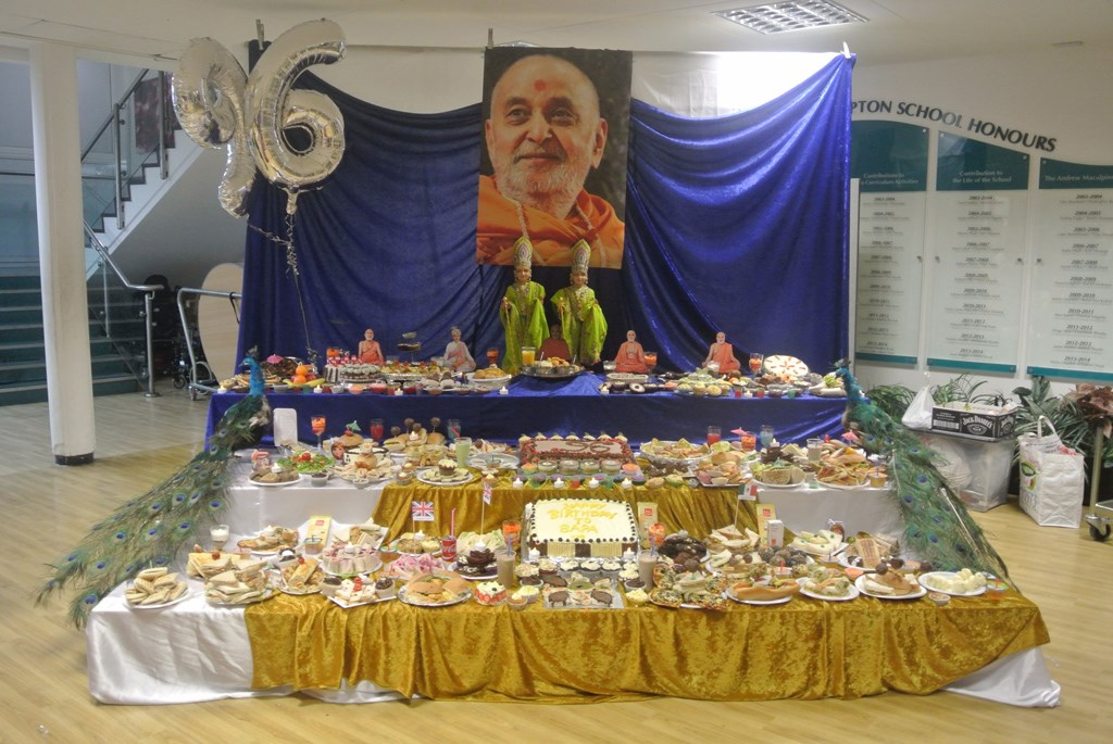 Pramukh Swami Maharaj Birthday Celebrations, Finchley, UK