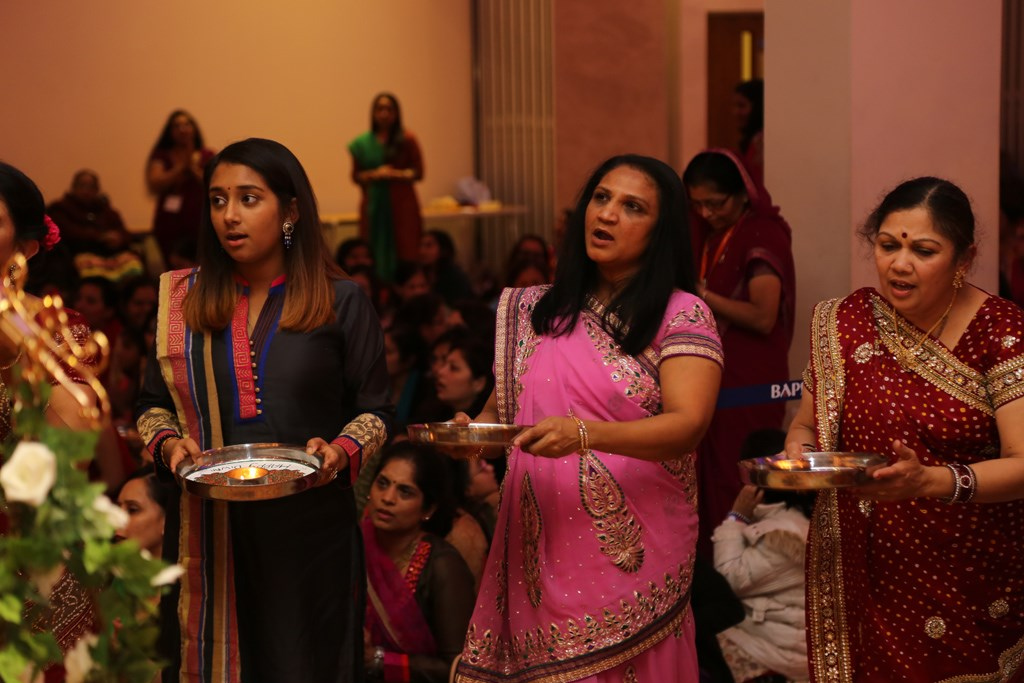 Pramukh Swami Maharaj Birthday Celebrations, Mahila Mandal, Leicester, UK