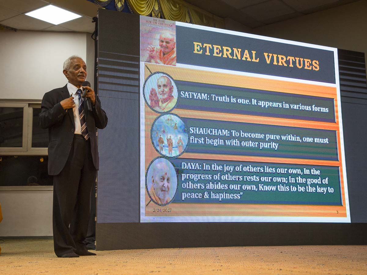 Dr. W. Selvamurthy addresses the seminar, 24 Feb 2017