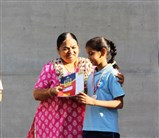 1st, 2nd and 3rd rank from each grade were awarded Gold, silver and bronze medal by Director, Dr. Neeta Shah
