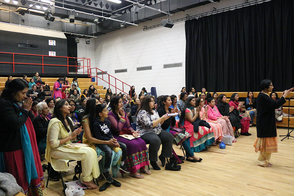 Celebrating International Women's Day, South East London, UK