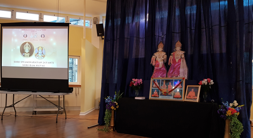 Swaminarayan Jayanti & Ram Navmi Celebrations, Edinburgh, UK