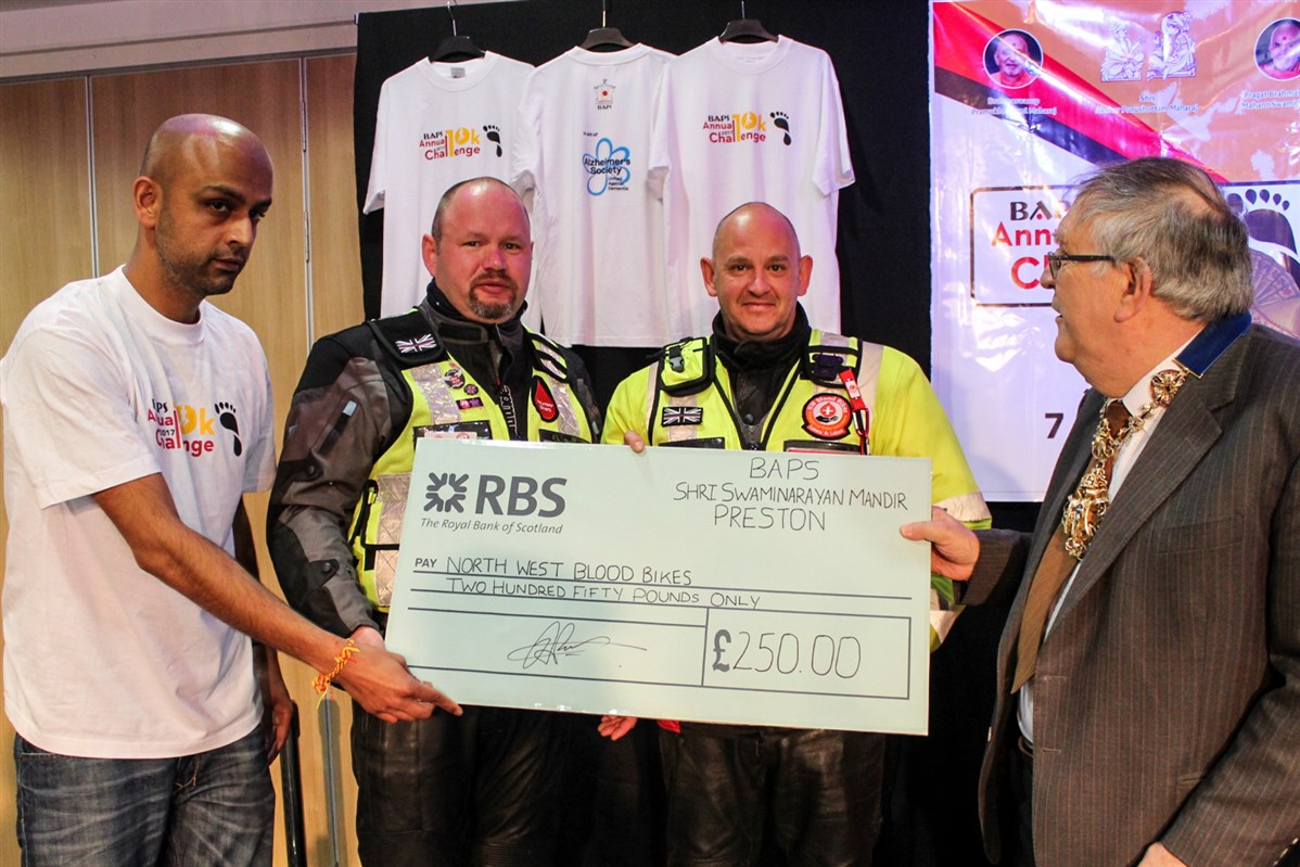 BAPS Annual Charity Challenge, Preston, UK