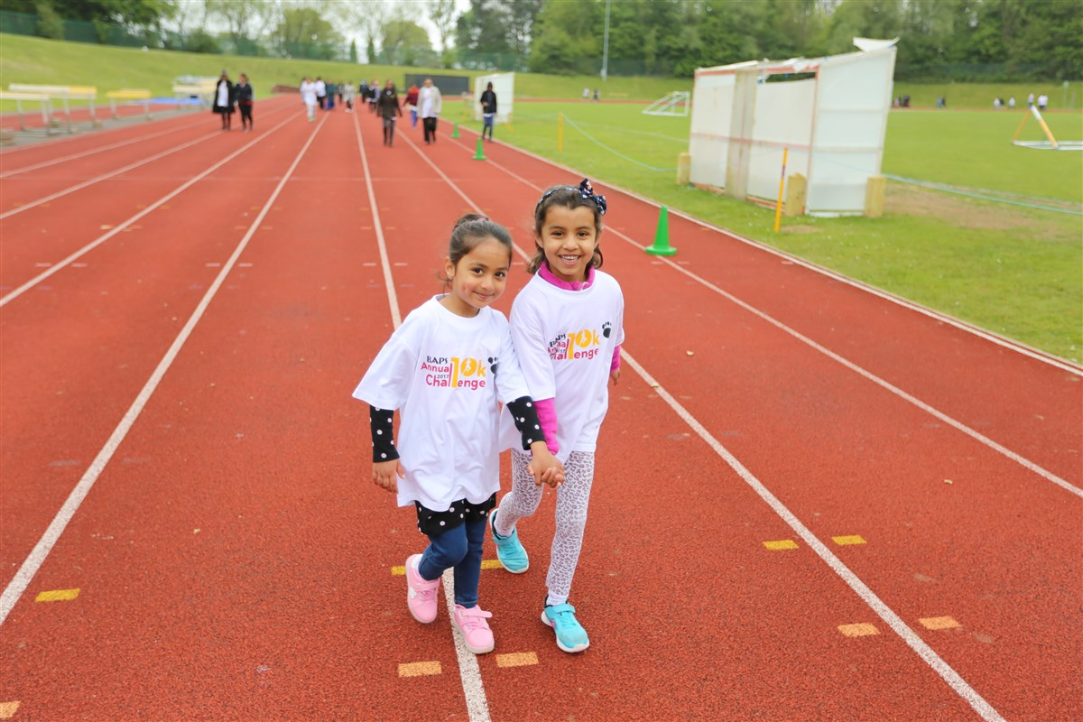 BAPS Annual Charity Challenge, Luton, UK
