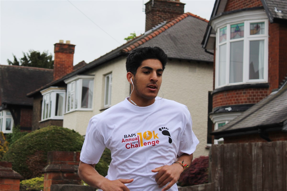 BAPS Annual Charity Challenge, Loughborough, UK