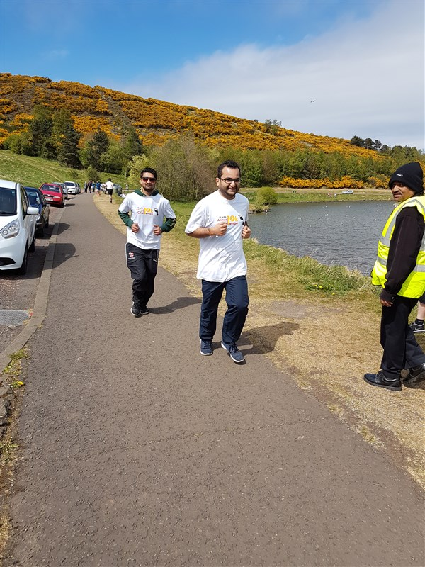 BAPS Annual Charity Challenge, Edinburgh, UK