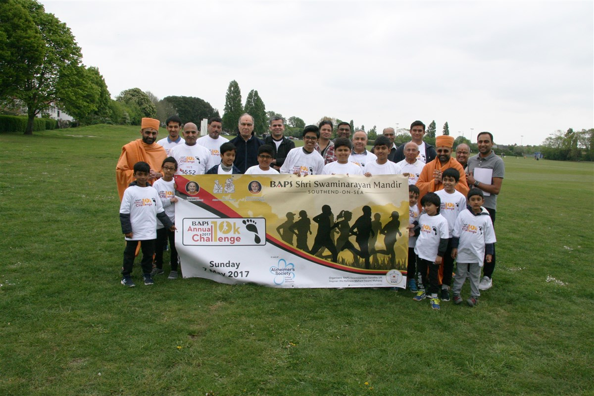 BAPS Annual Charity Challenge, Southend-on-Sea, UK
