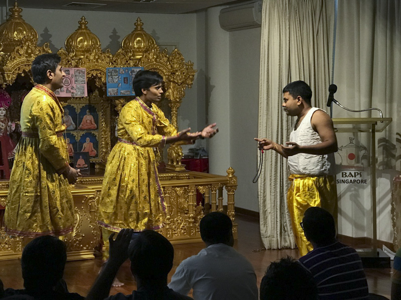 Shri Swaminarayan Jayanti and Ram Navmi Celebration, Singapore