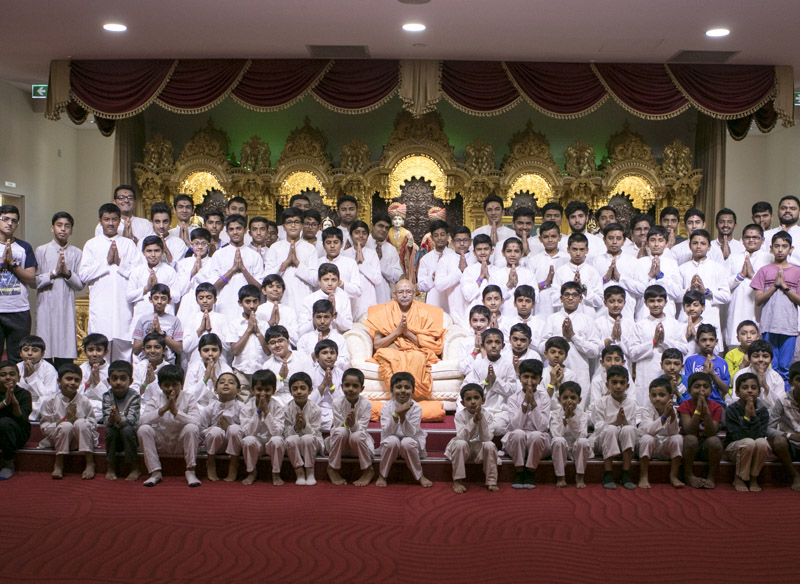 'I Will Always Be with You' Bal-Balika Shibir, Sydney