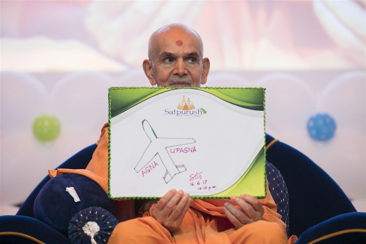 Satsang Shibir in the Presence of HH Mahant Swami Maharaj, UK & Europe