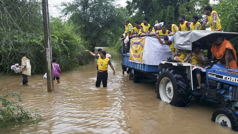 Flood Relief Work