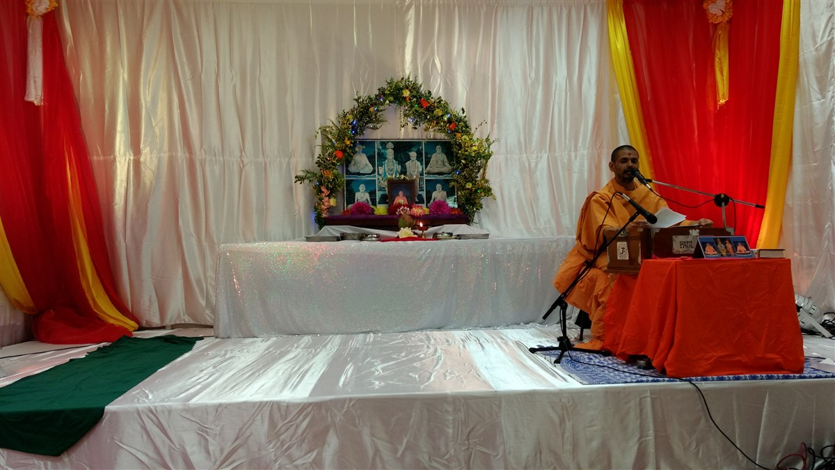 Chaturmas Parayan, Reading, UK