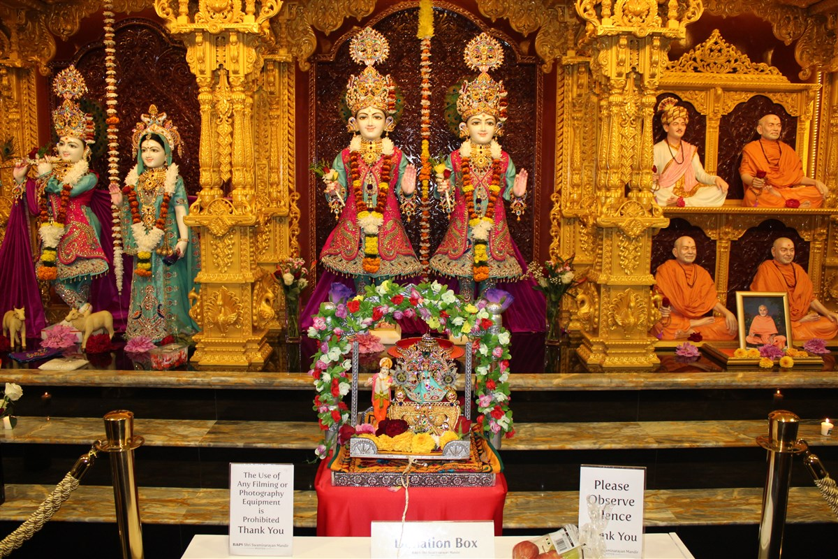 Shri Krishna Janmashtami, Preston, UK
