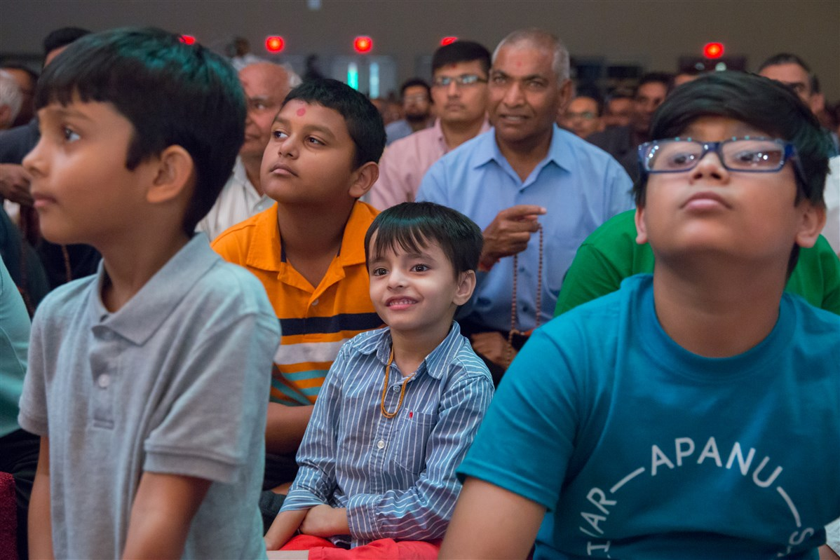 A child enjoying the cultural program