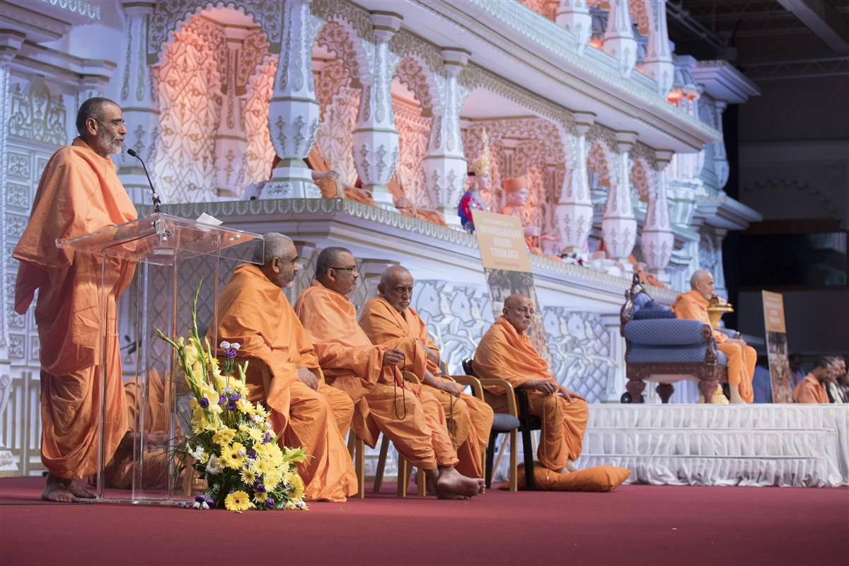 Anandswarupdas Swami introduces the new book