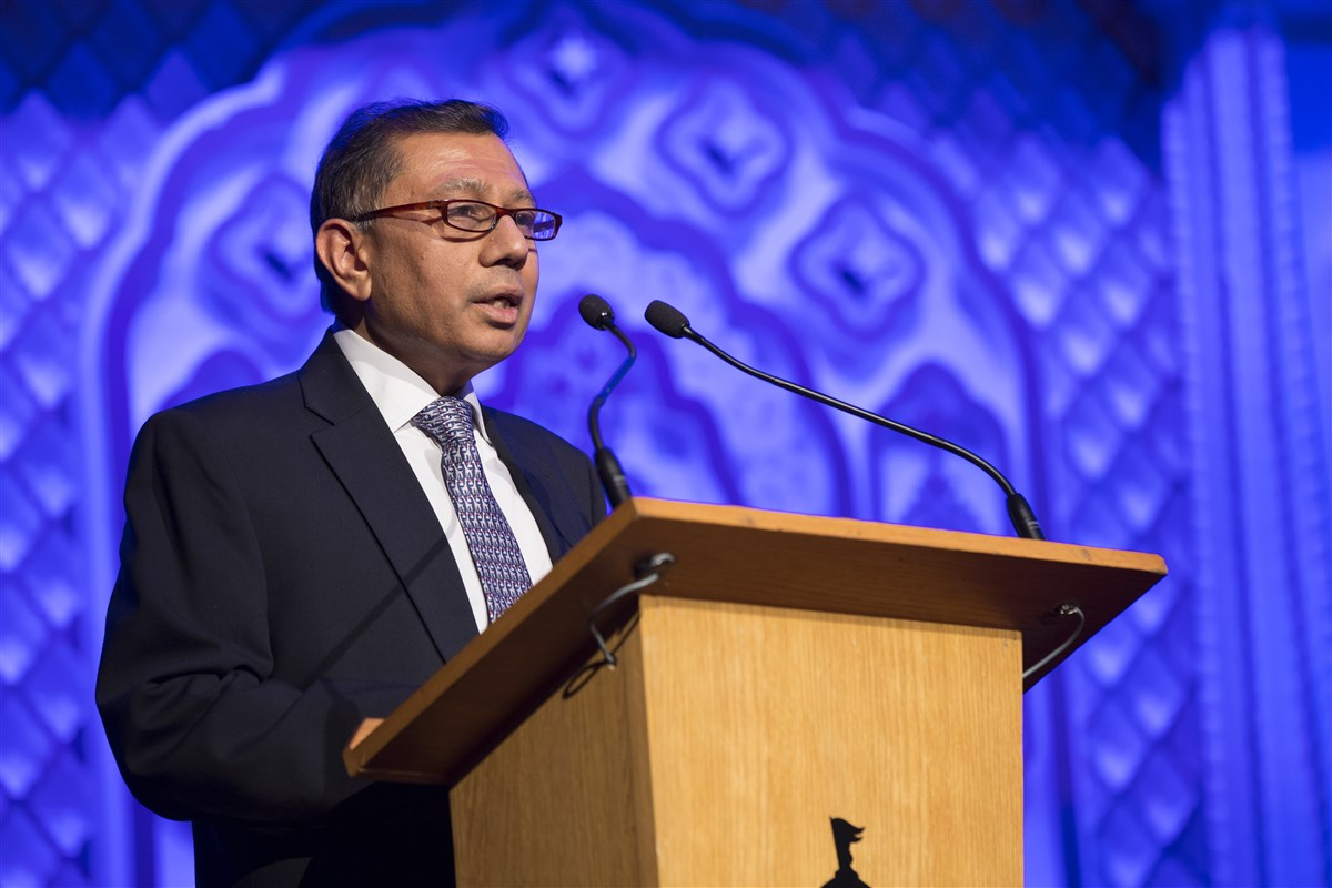 BAPS UK Trustee, Dr Mayank R. Shah, welcomed the guests and well-wishers
