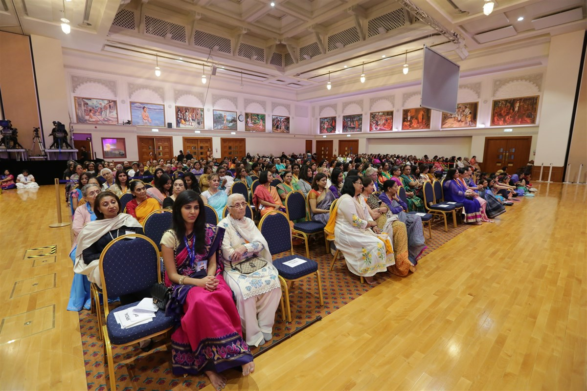 Hundreds of guests and well-wishers had gathered