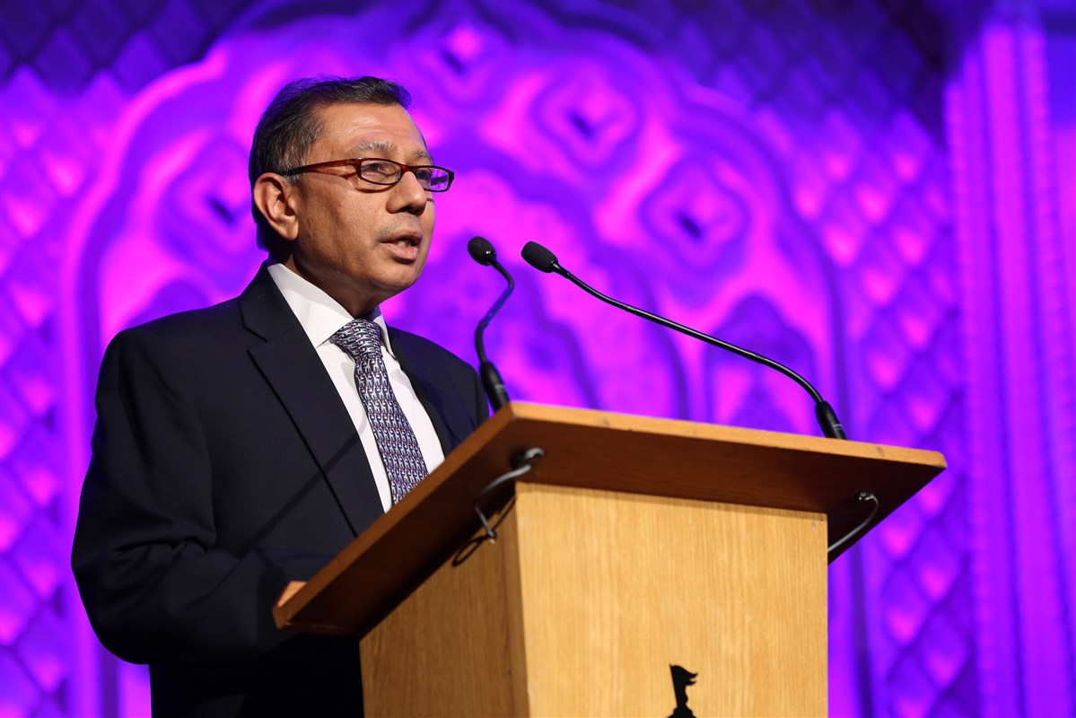 BAPS UK Trustee, Dr Mayank Shah, formally welcomed the distinguished guests