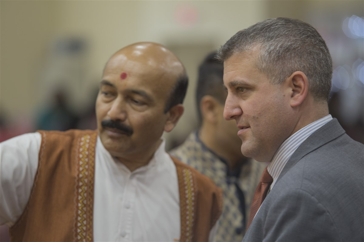 Pennsylvania State Representative Frank Farry at the Diwali and Annakut Celebration
