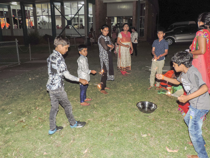 Diwali and Annakut Celebrations 2017, Gatton