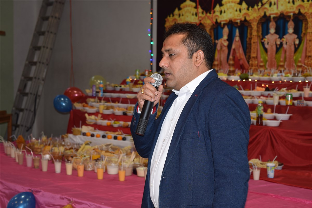 Vice President of Indian Restaurants in Poland, Mr. Arun Barot