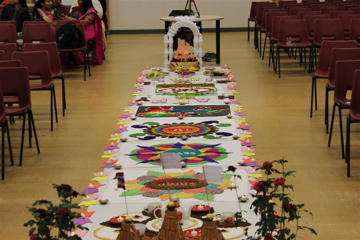 Diwali & Annakut Celebrations, Crawley, UK