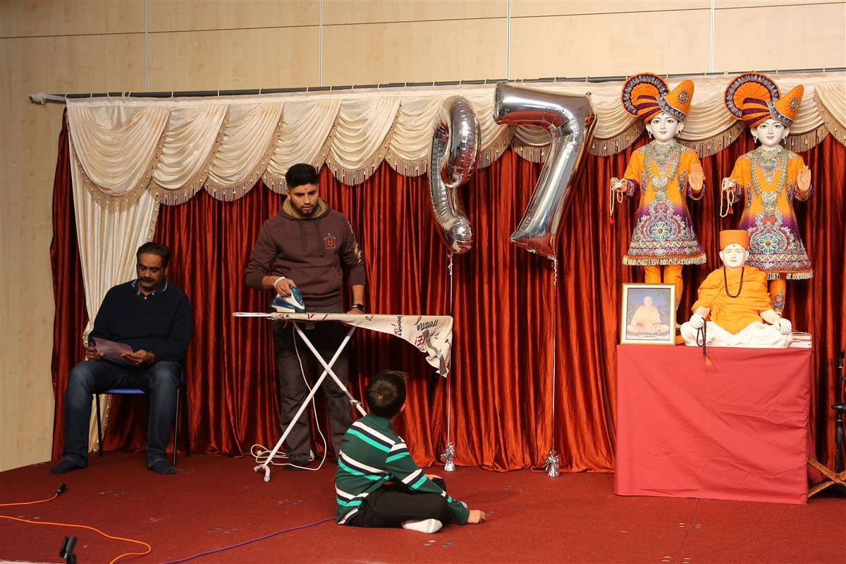 Pramukh Swami Maharaj 97th Janma Jayanti Celebrations, Wellingborough, UK