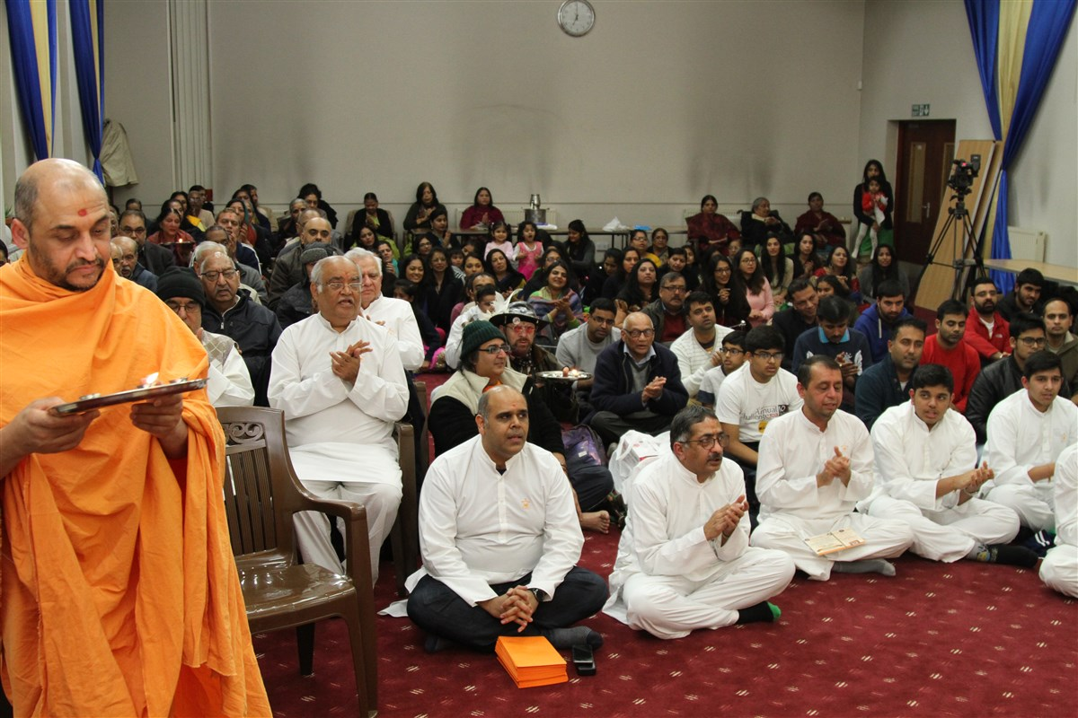 Pramukh Swami Maharaj 97th Janma Jayanti Celebrations, Coventry, UK