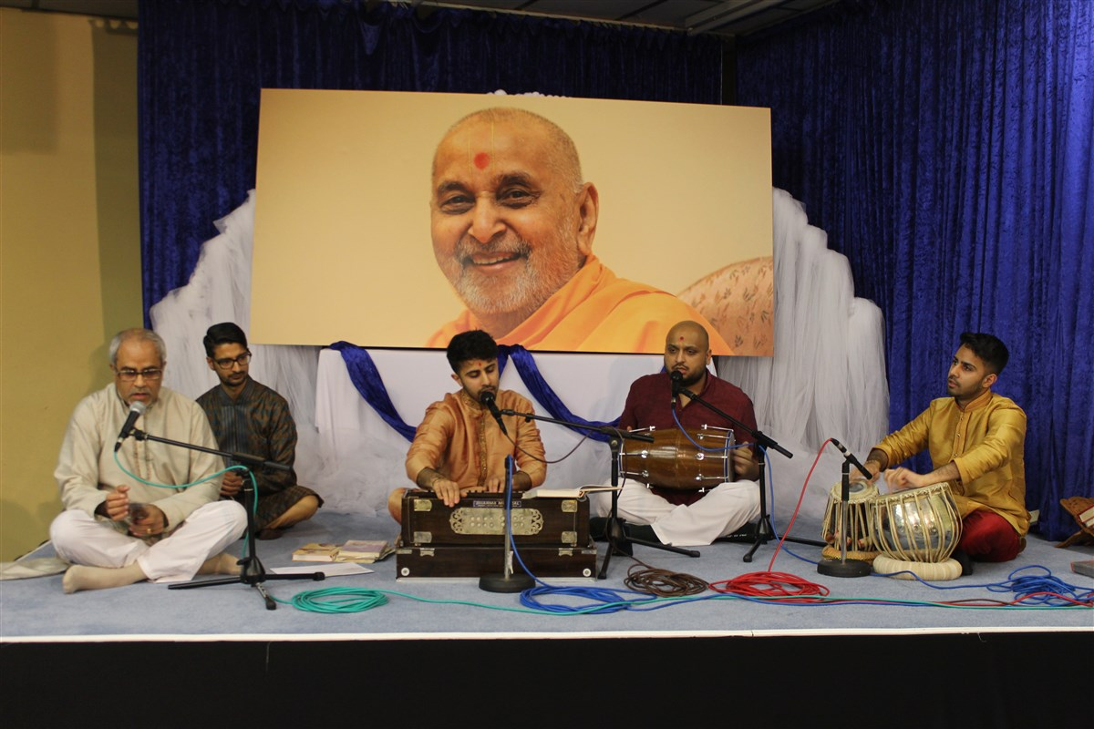 Pramukh Swami Maharaj 97th Janma Jayanti Celebrations, Loughborough, UK