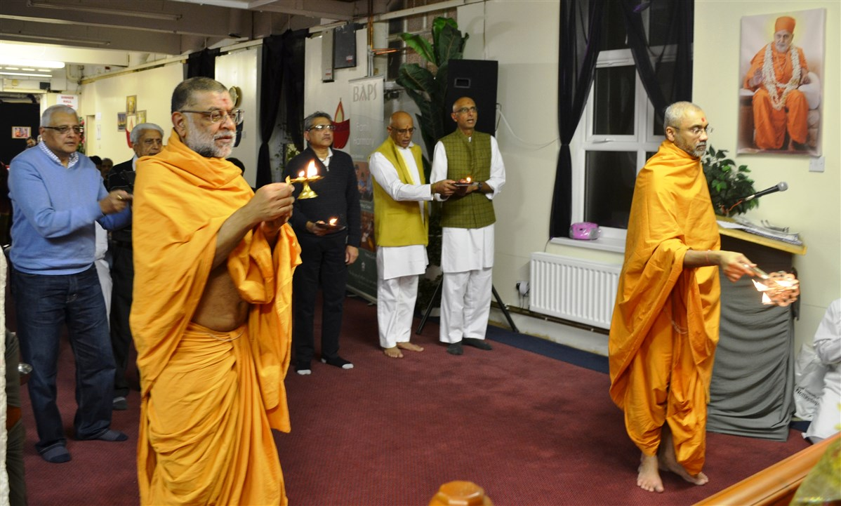 Pramukh Swami Maharaj 97th Janma Jayanti Celebrations, Nottingham, UK