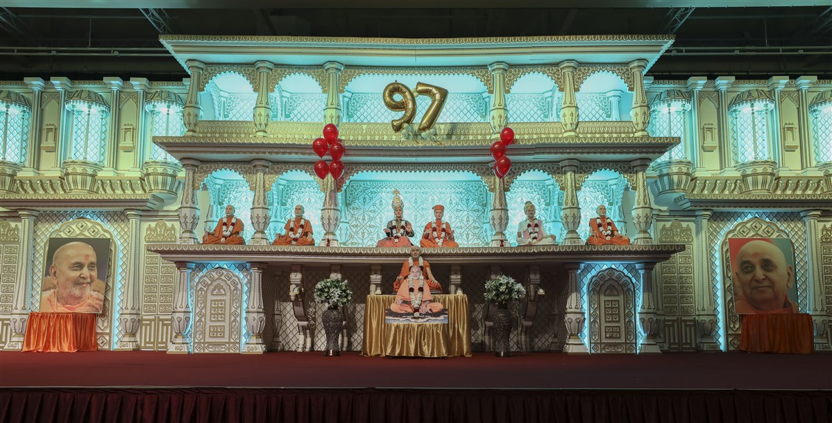Pramukh Swami Maharaj 97th Janma Jayanti Celebrations, London, UK