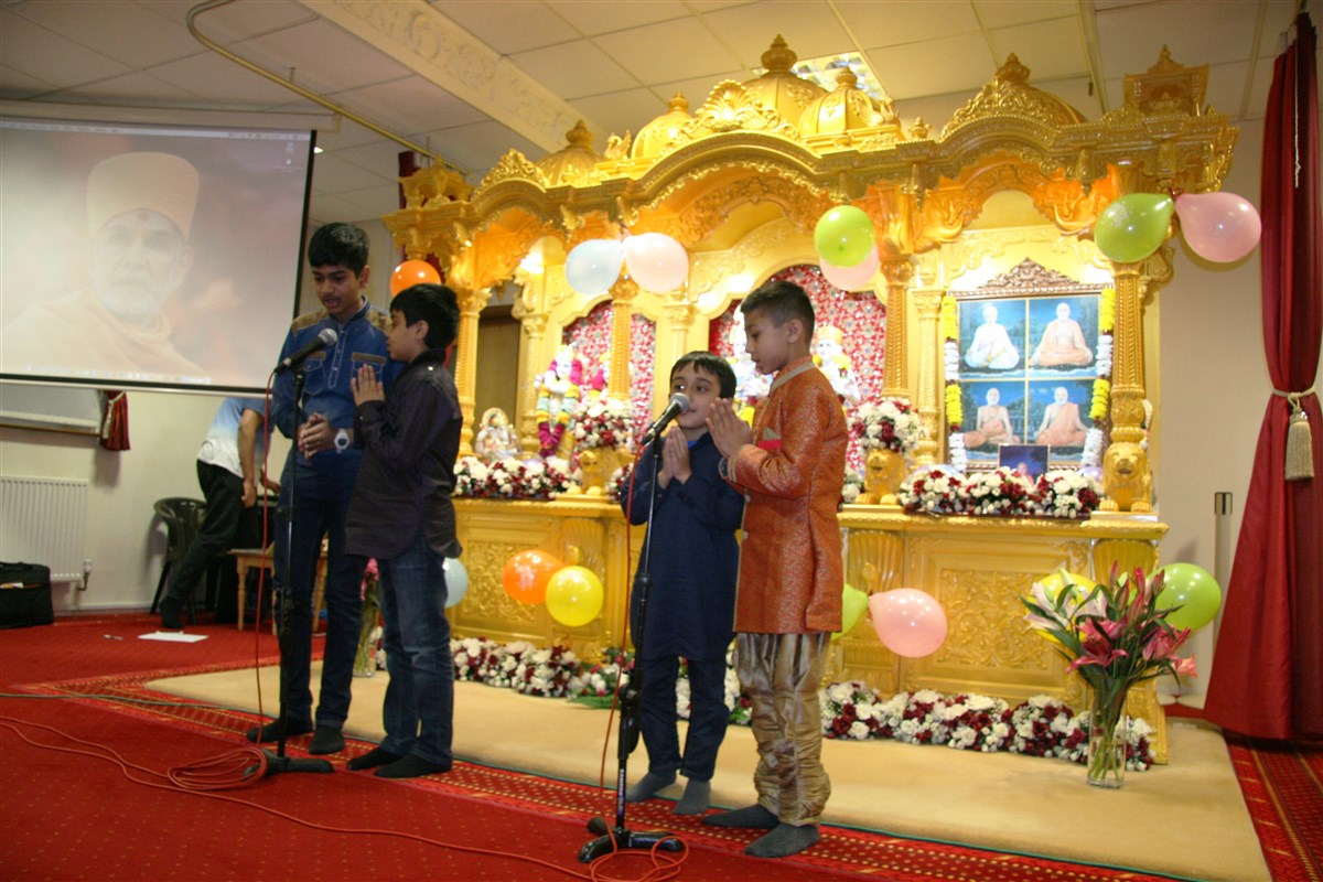 Pramukh Swami Maharaj 97th Janma Jayanti Celebrations, Southend-on-Sea, UK