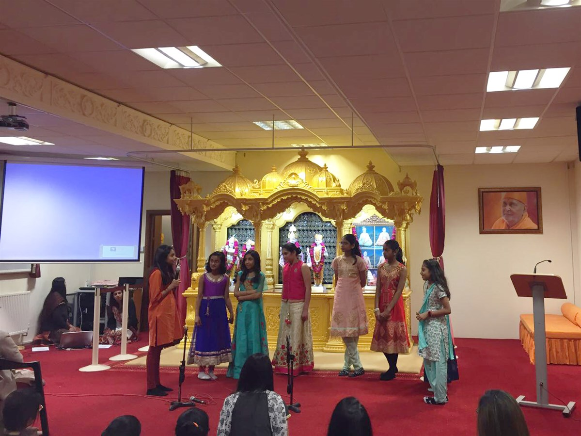 Pramukh Swami Maharaj 97th Janma Jayanti Celebrations, Southend-on-Sea Mahila Mandal, UK
