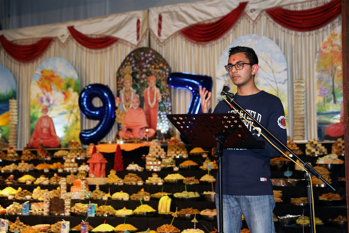 Pramukh Swami Maharaj 97th Janma Jayanti Celebrations, West London, UK