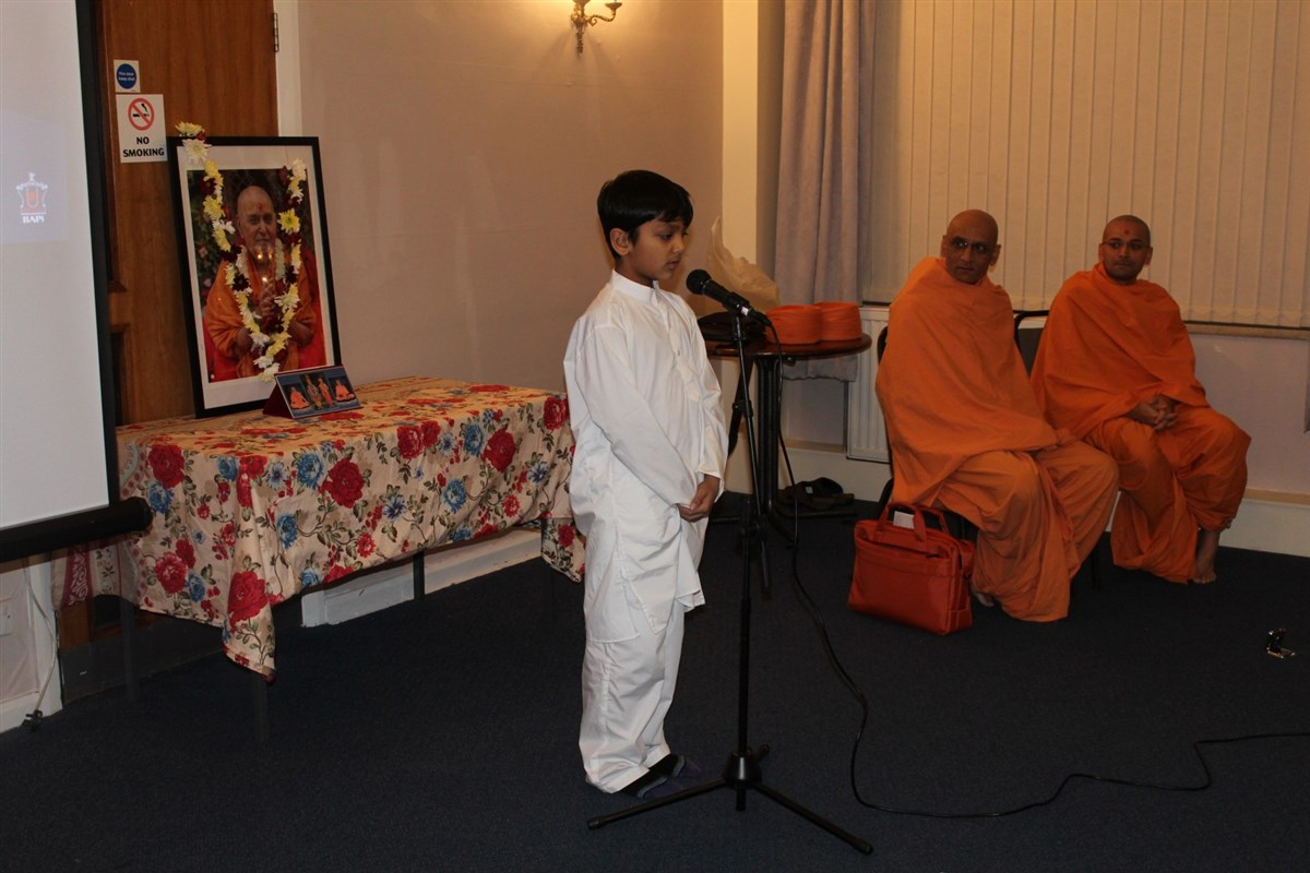Pramukh Swami Maharaj 97th Janma Jayanti Celebrations, Newcastle, UK