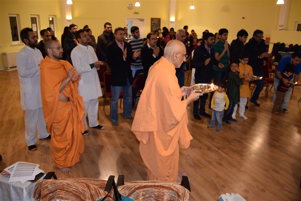 Pramukh Swami Maharaj 97th Janma Jayanti Celebrations, Edinburgh, UK