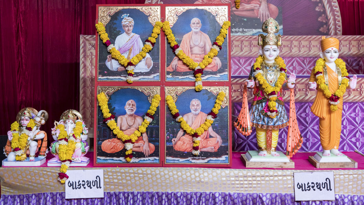 Murtis to be consecrated at BAPS Shri Swaminarayan Mandir, Bakarthali, India