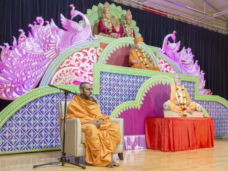 97th Birthday Celebration of Brahmaswarup Pramukh Swami Maharaj, Auckland